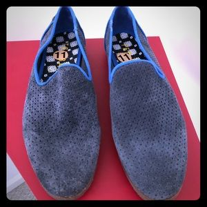 New Ted Baker Oshua Suede Slip-On Shoe size 11